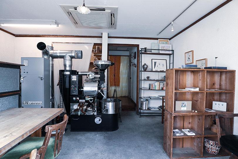 3 cofee roaster 写真